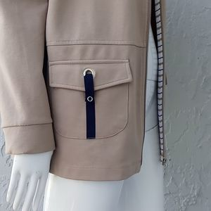 Allison Daley Full Zip Jacket /Contrasting Accents